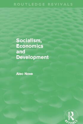 Nove   Socialism, Economics and Development (Routledge Revivals)   Buch   sack.de