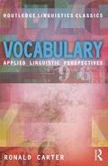 Carter |  Vocabulary | Buch |  Sack Fachmedien