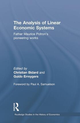 Bidard / Erreygers | The Analysis of Linear Economic Systems | Buch | sack.de