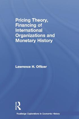 Officer | Pricing Theory, Financing of International Organisations and Monetary History | Buch | sack.de