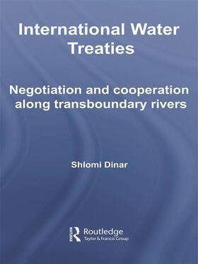 Dinar | International Water Treaties | Buch | sack.de