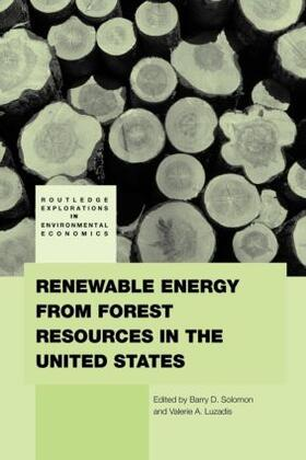 Solomon / Luzadis   Renewable Energy from Forest Resources in the United States   Buch   sack.de