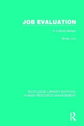 Livy | Job Evaluation | Buch | sack.de