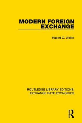 Walter | Modern Foreign Exchange | Buch | sack.de