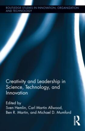 Hemlin / Martin Allwood / Martin | Creativity and Leadership in Science, Technology, and Innovation | Buch | sack.de