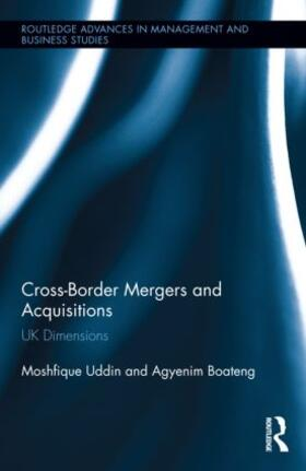 Uddin / Boateng | Cross-Border Mergers and Acquisitions | Buch | sack.de