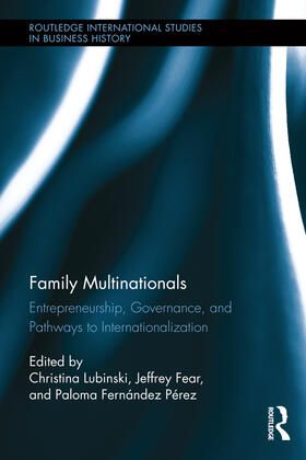 Lubinski / Fear / Fernández Pérez | Family Multinationals | Buch | sack.de