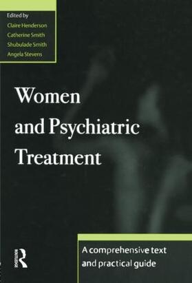 Henderson / Smith / Smith | Women and Psychiatric Treatment | Buch | sack.de