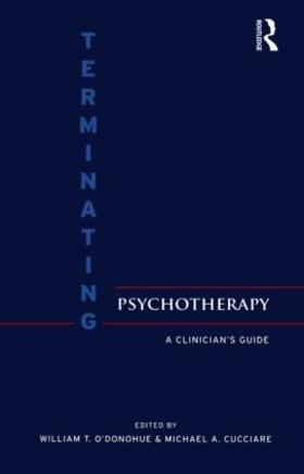 O'Donohue / Cucciare | Terminating Psychotherapy | Buch | sack.de