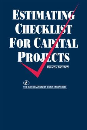 The Joint Development Board | Estimating Checklist for Capital Projects | Buch | sack.de
