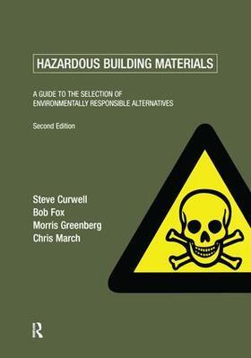 Fox / Greenberg / March | Hazardous Building Materials | Buch | sack.de