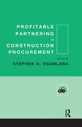 Ogunlana | Profitable Partnering in Construction Procurement | Buch | sack.de