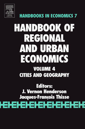 Henderson / Thisse | Handbook of Regional and Urban Economics | Buch | sack.de