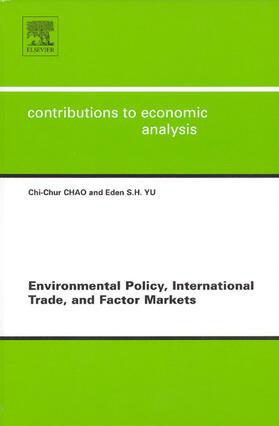 Environmental Policy, International Trade and Factor Markets | Buch | sack.de