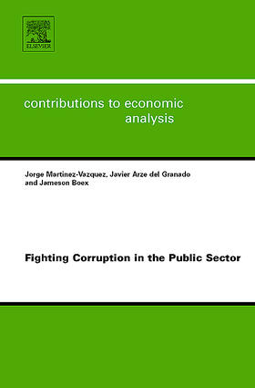 Fighting Corruption in the Public Sector | Buch | sack.de