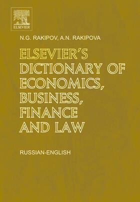 Elsevier's Dictionary of Economics, Business, Finance and Law: Russian-English | Buch | sack.de