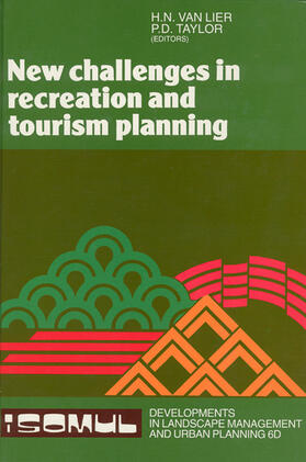 New Challenges in Recreation and Tourism Planning | Buch | sack.de