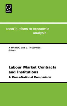 Labor Market Contracts and Institutions | Buch | sack.de