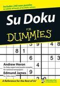 Heron / James    Su Doku for Dummies   Buch    Sack Fachmedien