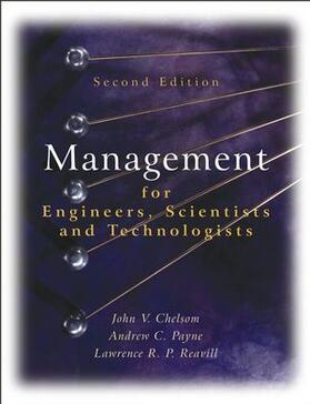 Chelsom / Payne / Reavill | Management for Engineers, Scientists 2e | Buch | sack.de