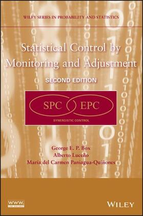 Box / Luceño / Paniagua-Quinones | Statistical Control by Monitoring and Adjustment | Buch | sack.de