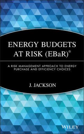 Jackson   Energy Budgets at Risk (EBaR)   Buch   sack.de