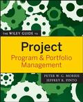 Morris / Pinto |  The Wiley Guide to Project, Program & Portfolio Management | Buch |  Sack Fachmedien