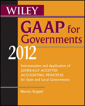 Ruppel | Wiley GAAP for Governments 2012 | Buch | sack.de