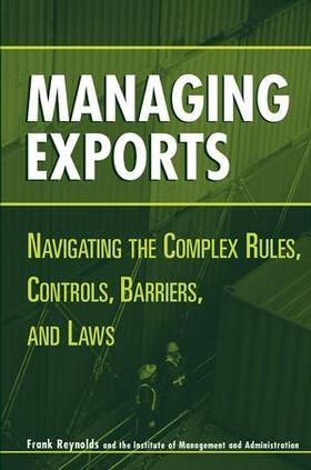 Managing Exports | Buch | sack.de