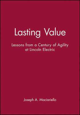 Maciariello   Lasting Value   Buch   sack.de