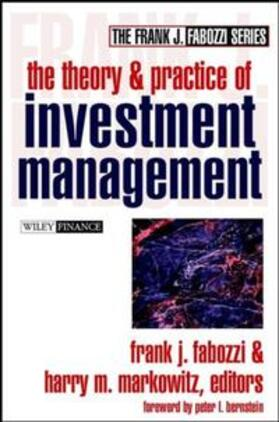 Fabozzi / Markowitz   The Theory and Practice of Investment Management   E-Book   sack.de