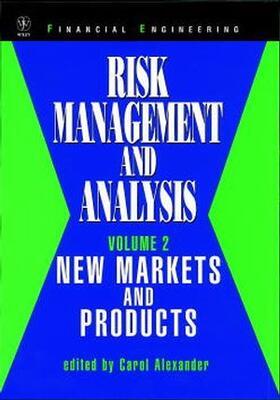 Alexander   Risk Management and Analysis   Buch   sack.de