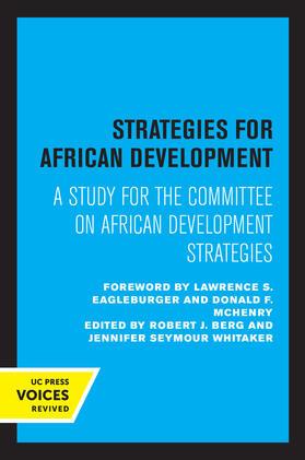 Berg / Whitaker | Strategies for African Development | Buch | sack.de