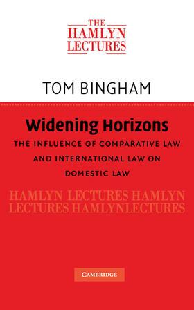 Bingham | Widening Horizons | Buch | Sack Fachmedien