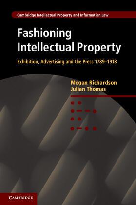 Fashioning Intellectual Property   Buch   sack.de