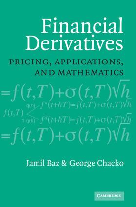 Financial Derivatives: Pricing, Applications, and Mathematics | Buch | sack.de