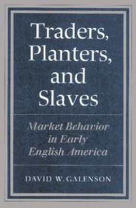 Traders, Planters and Slaves | Buch | sack.de
