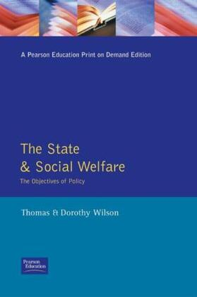 Wilson / Wilson | State and Social Welfare, The | Buch | sack.de