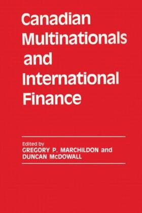 Marchildon / McDowall | Canadian Multinationals and International Finance | Buch | sack.de