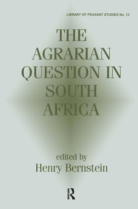 Bernstein | The Agrarian Question in South Africa | Buch | sack.de