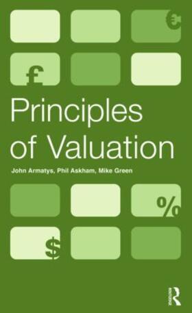 Armatys / Askham / Green | Principles of Valuation | Buch | sack.de