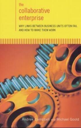 The Collaborative Enterprise   Buch   sack.de
