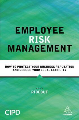 Rideout | Employee Risk Management | Buch | sack.de