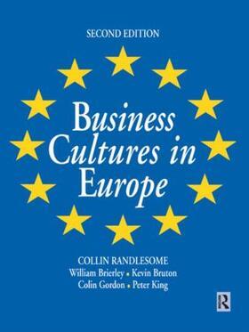 Brierley / Gordon / Bruton | Business Cultures in Europe | Buch | sack.de