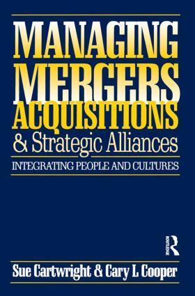 Cartwright / Cooper | Managing Mergers Acquisitions and Strategic Alliances | Buch | sack.de