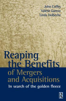Coffey / Garrow / Holbeche | Reaping the Benefits of Mergers and Acquisitions | Buch | sack.de