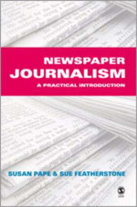 Pape / Featherstone | Newspaper Journalism | Buch | sack.de