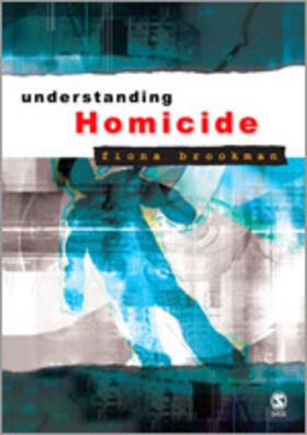 Brookman   Understanding Homicide   Buch   sack.de