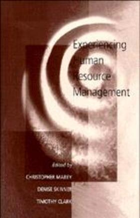 Mabey / Skinner / Clark | Experiencing Human Resource Management | Buch | sack.de