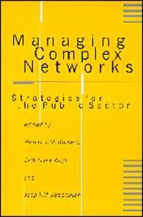 Kickert / Klijn / Koppenjan   Managing Complex Networks   Buch   sack.de